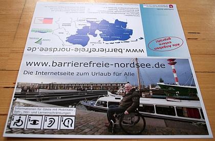 Bild Folder ohne Brailledruck