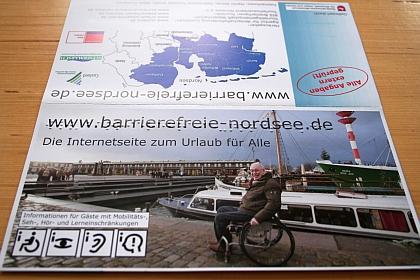 Bild Folder mit Brailledruck
