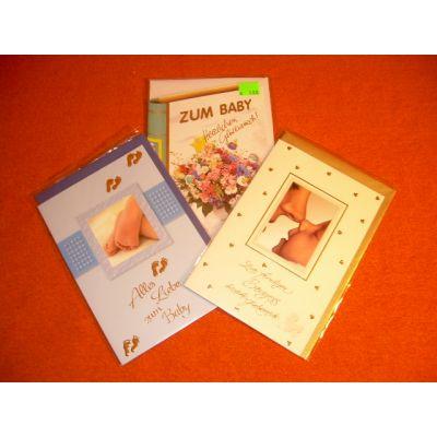 Glückwunschkarten mit Text in Braille