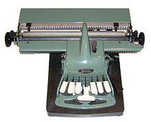 Foto Schreibmaschine Picht