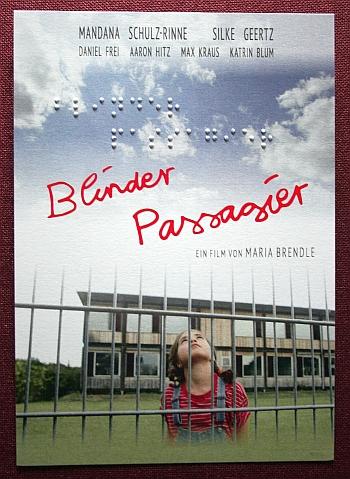 Foto Postkarte mit Brailledruck