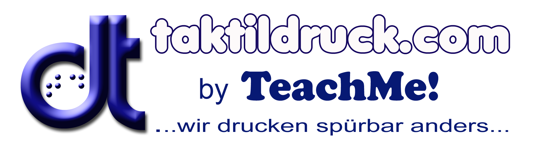Logo taktildruck by teachme